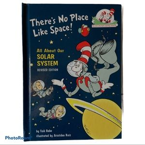 4/$20 There's No Place Like Space Hardcover Book